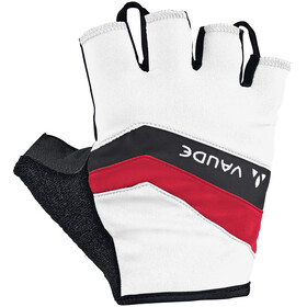 VAUDE Active Gloves Men white/red